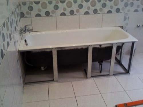 Подставка под ванну своими руками из металла
