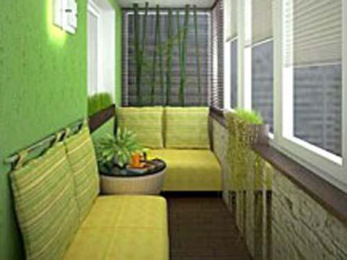 Присоединение балкона или лоджии к кухне.