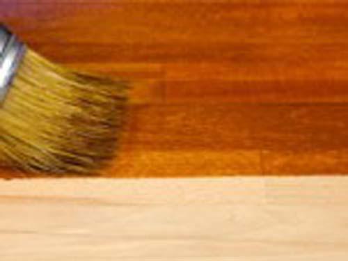 Покраска деревянного пола видео