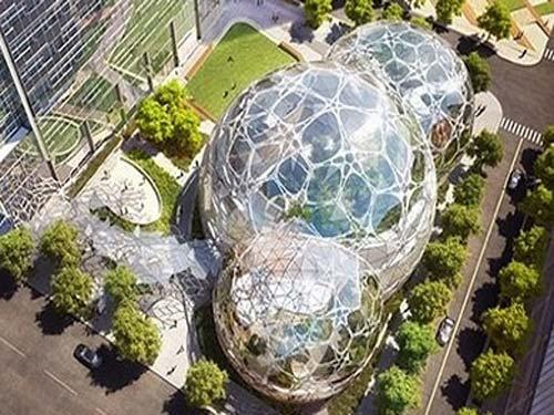 Оригинальный проект Биокупола: бизнес-центр Amazon