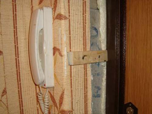 Установка откосов входной двери своими руками видео
